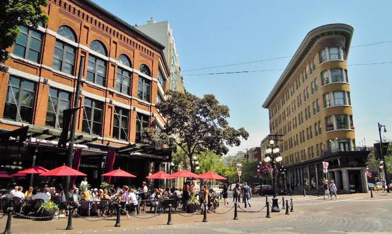 Bairro de Gastown em Vancouver