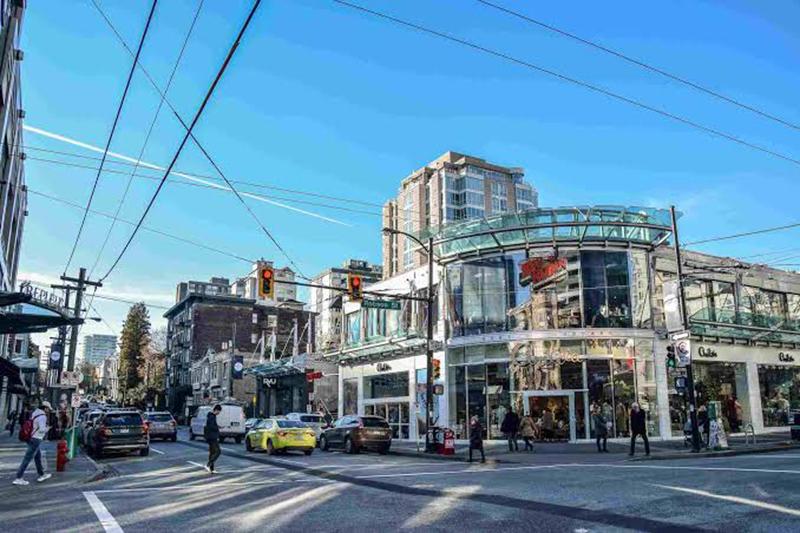 Região de Downtown em Vancouver