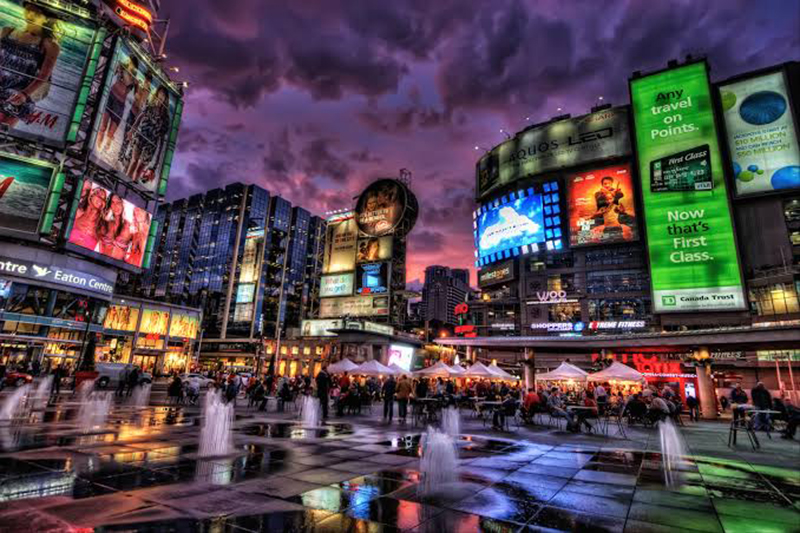 Região de Entertainment District em Toronto