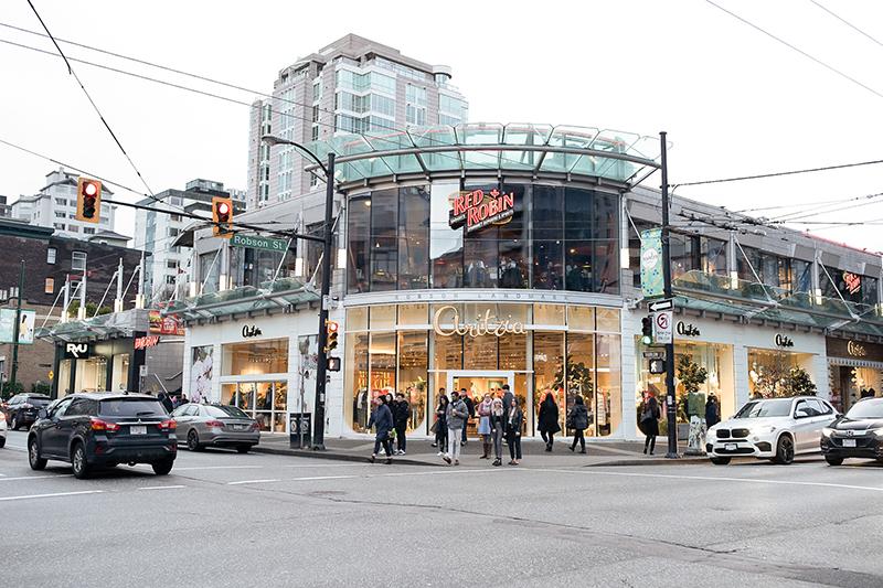 Robson Street de Vancouver