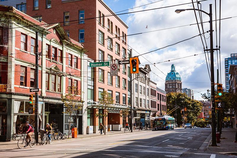 Melhores ruas de compras em Vancouver