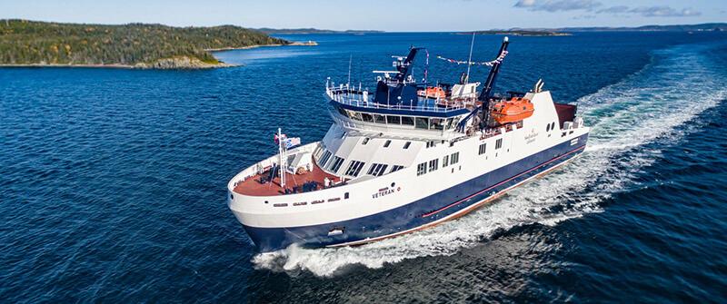 Estrutura do ferry boat no Canadá