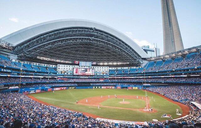 Estádio Rogers Centre em Toronto