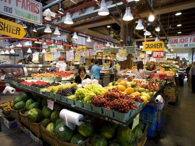 Granville Island Public Market em Vancouver