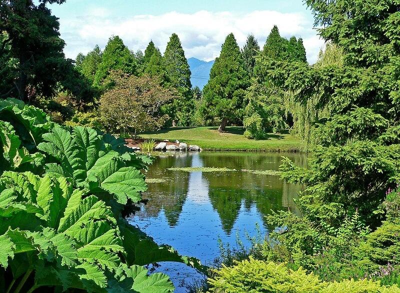 Passeio pelo VanDusen Gardens em Vancouver