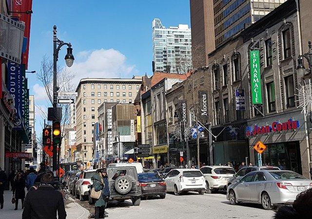 Compras em Montreal