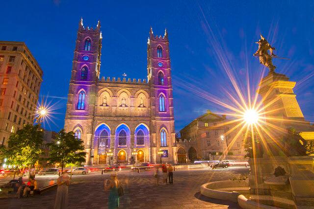 Basílica de Notre Dame em Montreal