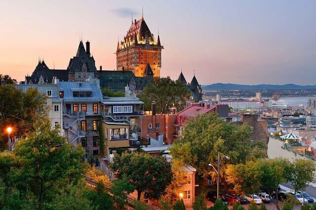 Cidades turísticas no Canadá