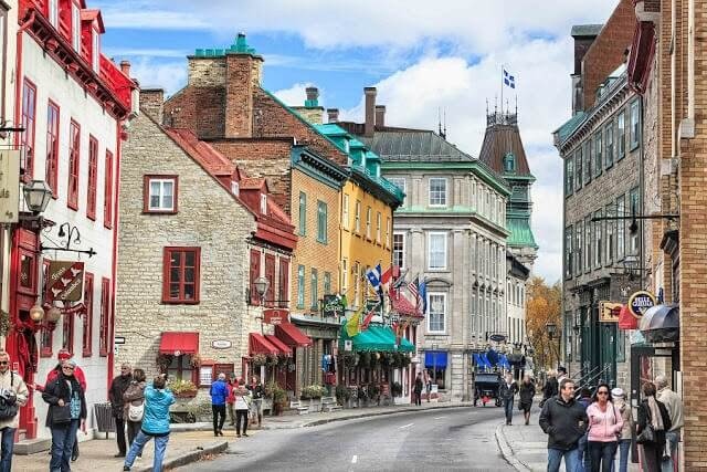 Compras em Quebec