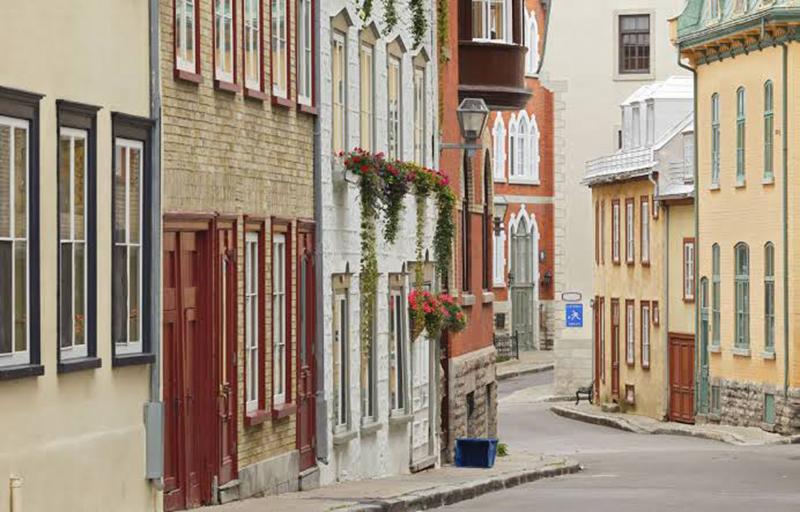Região de Basse Ville em Quebec