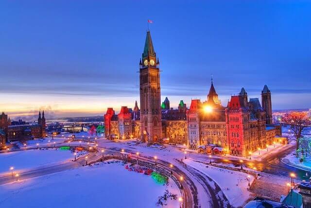 O que fazer no inverno em Ottawa