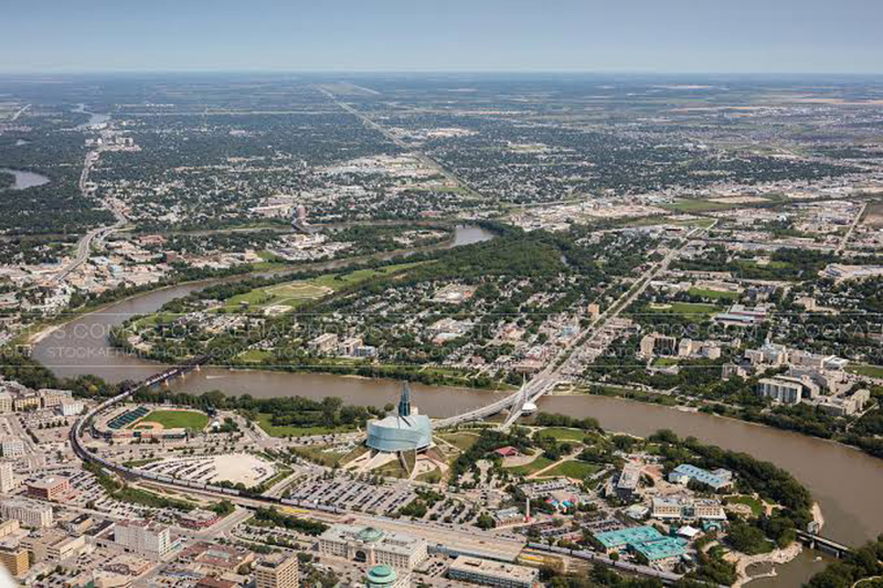 Região de St. Boniface em Winnipeg