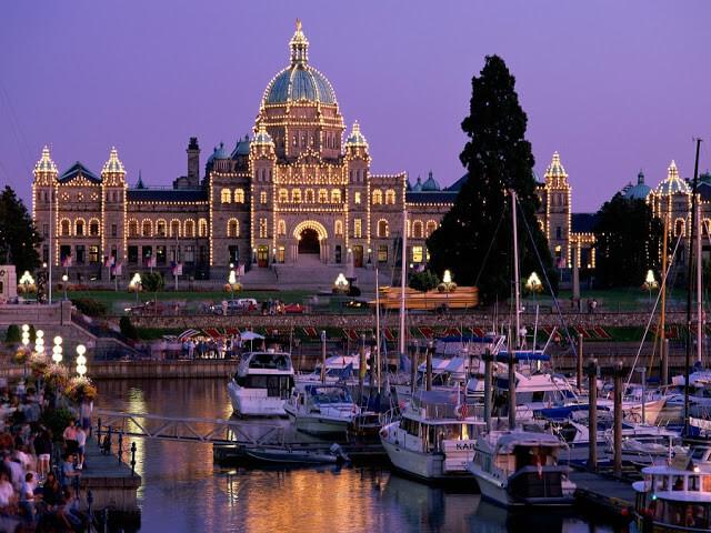 Roteiro de 4 dias em Victoria no Canadá