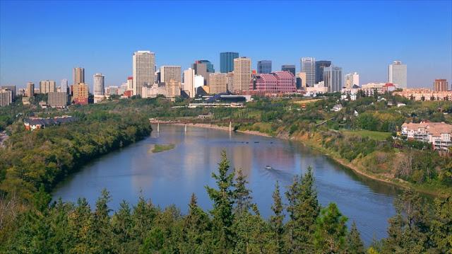 Pontos turísticos em Edmonton