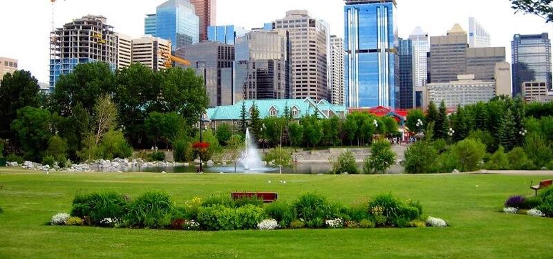 Parque Prince's Island em Calgary
