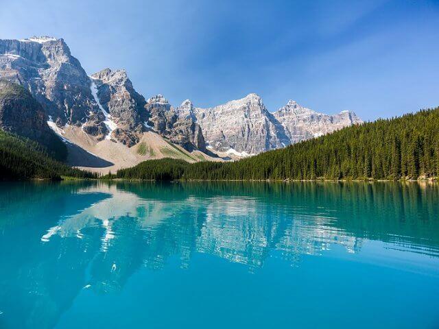 Cidade de Banff saindo de Calgary