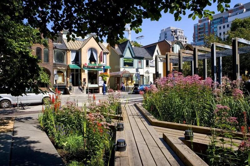 Região de Yorkville em Toronto