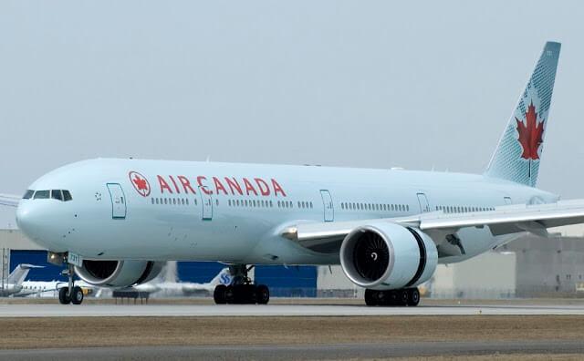 Tempo de avião até Montreal