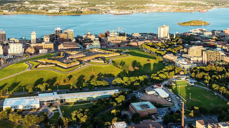 Vista da região Sul de Halifax