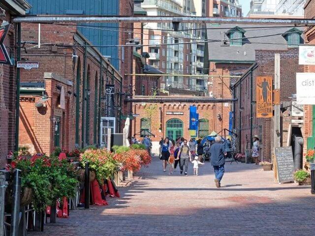 Distillery District em Toronto