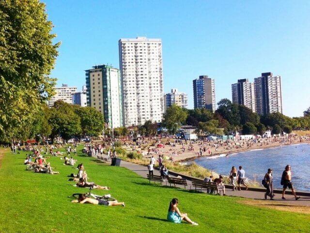 Remessas internacionais para Vancouver