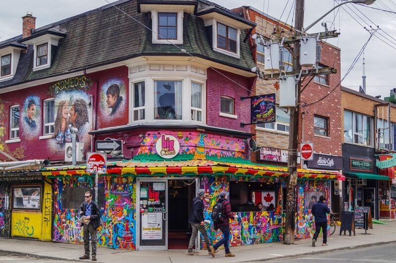Kensington Market em Toronto