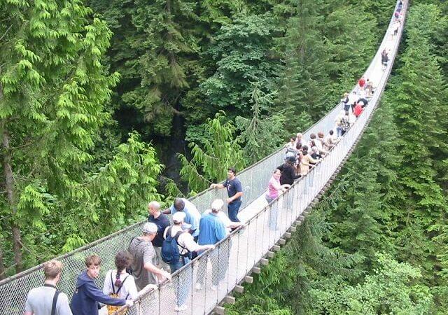 Ingresso para a Montanha Grouse em Vancouver