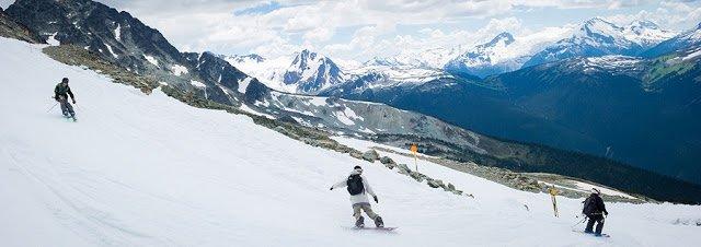 Onde esquiar no Canadá