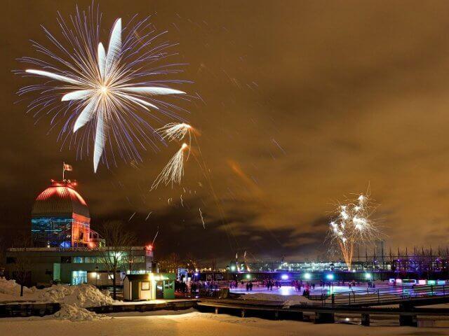 Ano Novo em Montreal