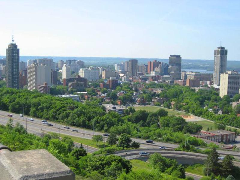 Área central de Hamilton