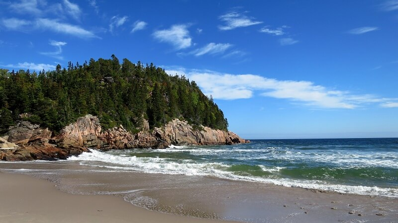 Parque Nacional Cape Breton Highlands no Canadá