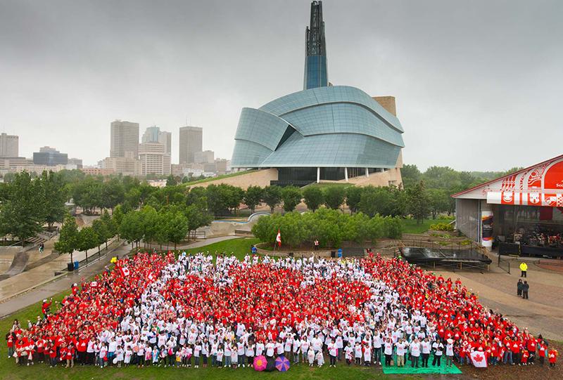 Canada Day em Winnipeg
