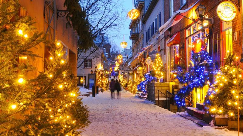 Natal em Quebec