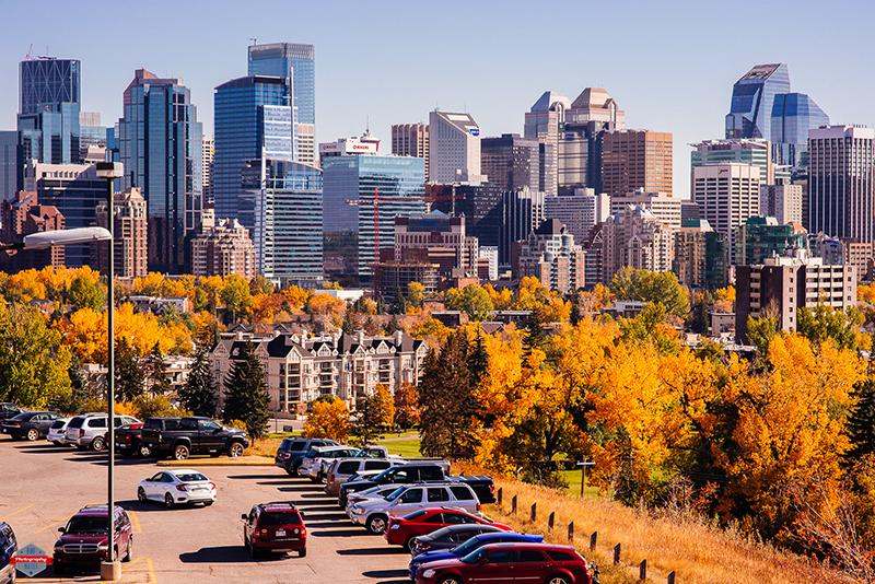Outono em Calgary