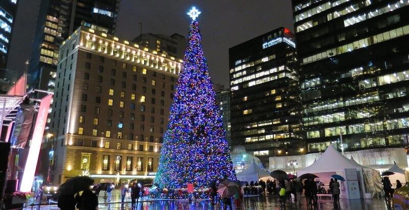 Decoração de Natal em Vancouver