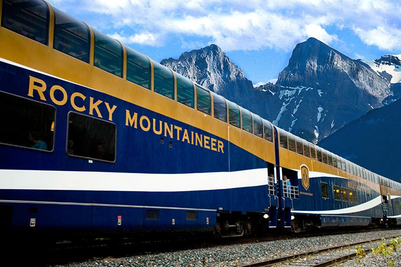 Companhia Rocky Mountaineer no Canadá