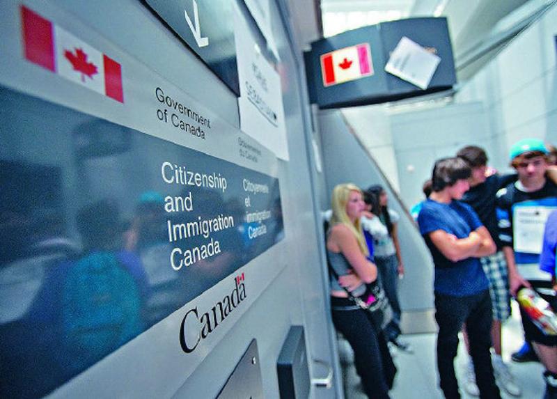 Imigração para entrar no Canadá