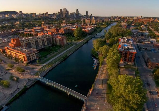 Canal Lachine em Montreal