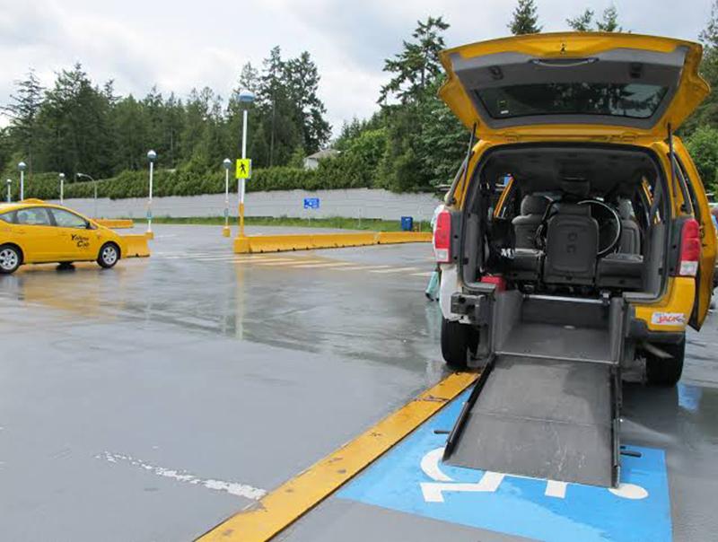 Táxis adaptados para deficientes físicos em Vancouver