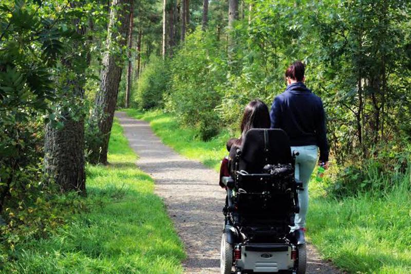 Ruas acessíveis para deficientes físicos em Vancouver