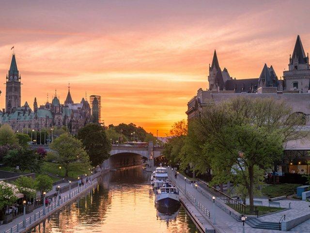 Lua de mel em Ottawa
