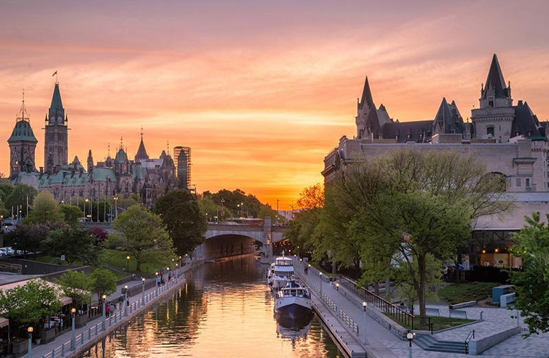 Canais em Ottawa