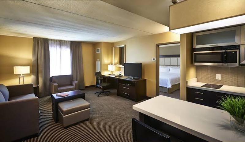 Quarto do Hotel Homewood Suites by Hilton em Hamilton