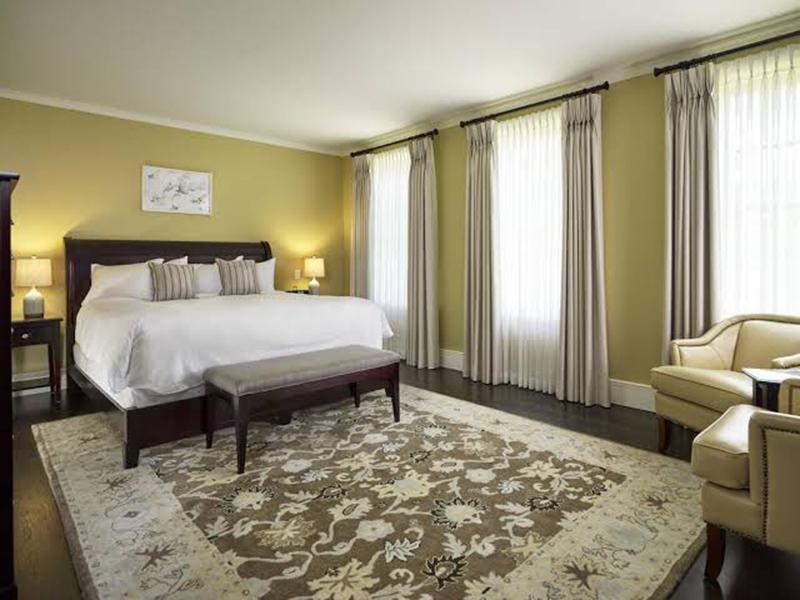 Quarto do Hotel The Barracks Inn em Hamilton