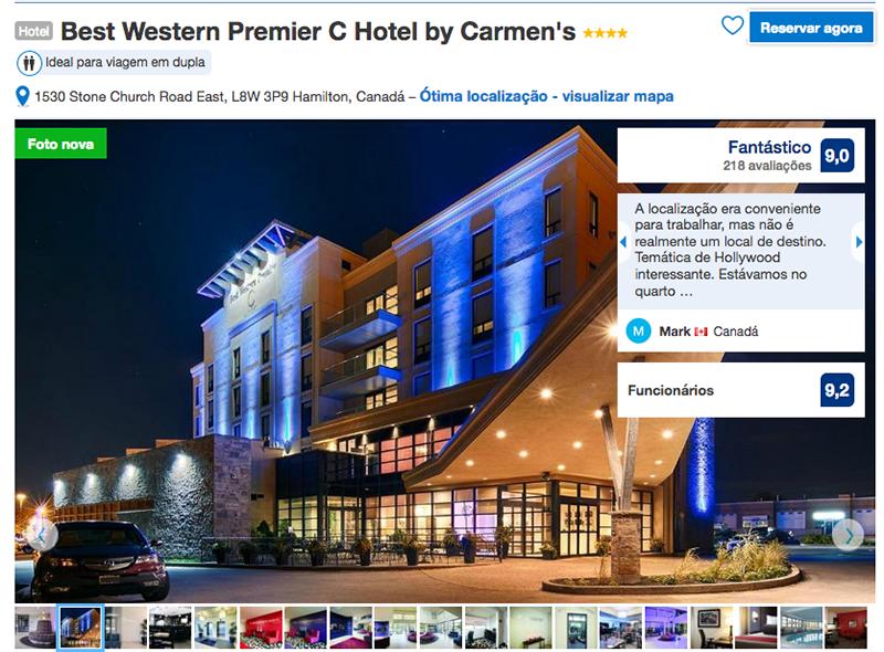 Hotel Best Western Premier em Hamilton