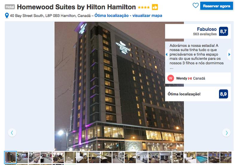 Hotel Homewood Suites by Hilton em Hamilton