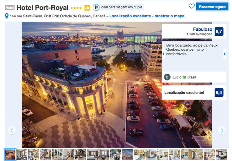 Hotel Port-Royal em Quebec