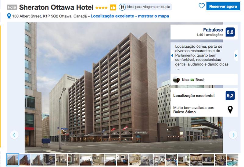 Hotel Sheraton em Ottawa