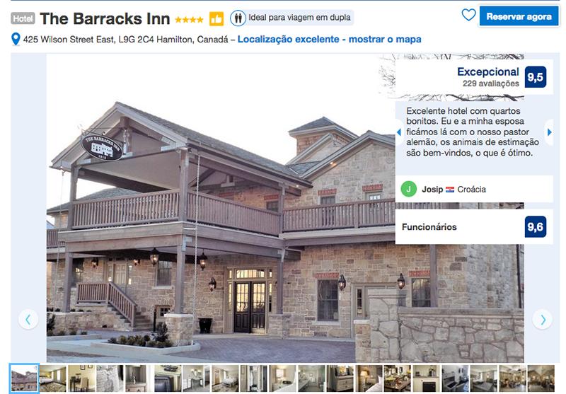 Hotel The Barracks Inn em Hamilton