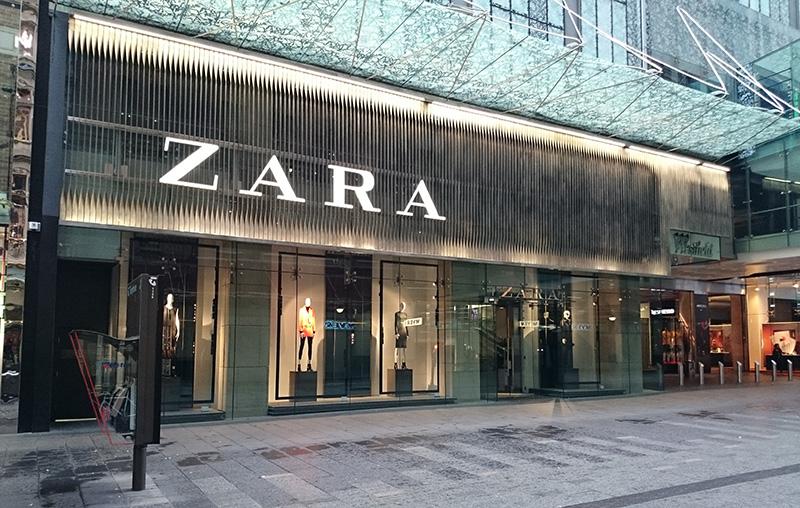 Zara em Montreal